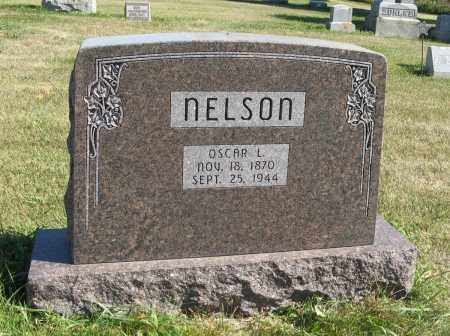NELSON, OSCAR L. - Cuming County, Nebraska   OSCAR L. NELSON - Nebraska Gravestone Photos