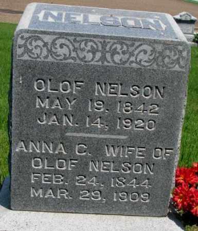 NELSON, OLOF - Cuming County, Nebraska | OLOF NELSON - Nebraska Gravestone Photos