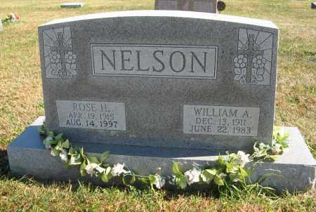 NELSON, WILLIAM A. - Cuming County, Nebraska | WILLIAM A. NELSON - Nebraska Gravestone Photos