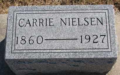 NIELSEN, CARRIE - Cuming County, Nebraska | CARRIE NIELSEN - Nebraska Gravestone Photos