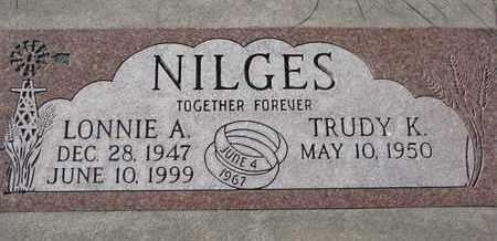 NILGES, TRUDY K. - Cuming County, Nebraska   TRUDY K. NILGES - Nebraska Gravestone Photos