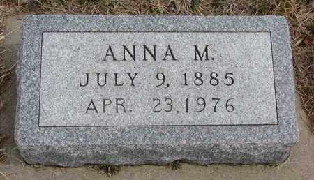 NUERNBERGER, ANNA M. - Cuming County, Nebraska | ANNA M. NUERNBERGER - Nebraska Gravestone Photos