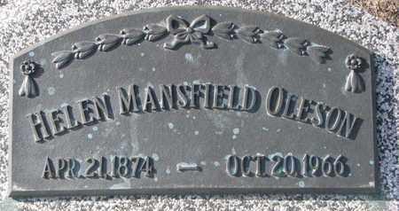OLESON, HELEN - Cuming County, Nebraska   HELEN OLESON - Nebraska Gravestone Photos