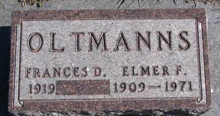 OLTMANNS, ELMER F. - Cuming County, Nebraska   ELMER F. OLTMANNS - Nebraska Gravestone Photos