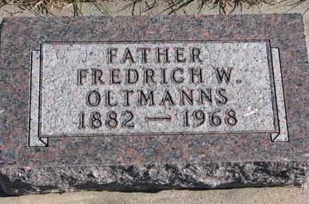 OLTMANNS, FREDRICH W. - Cuming County, Nebraska   FREDRICH W. OLTMANNS - Nebraska Gravestone Photos