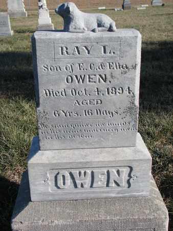 OWEN, RAY L. - Cuming County, Nebraska | RAY L. OWEN - Nebraska Gravestone Photos