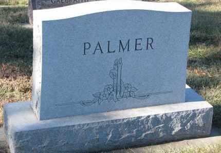PALMER, (FAMILY MONUMENT) - Cuming County, Nebraska | (FAMILY MONUMENT) PALMER - Nebraska Gravestone Photos