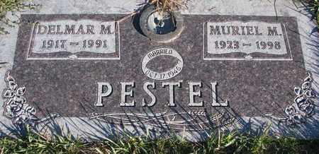PESTEL, MURIEL M. - Cuming County, Nebraska   MURIEL M. PESTEL - Nebraska Gravestone Photos