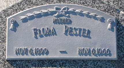 PESTEL, FLORA - Cuming County, Nebraska   FLORA PESTEL - Nebraska Gravestone Photos