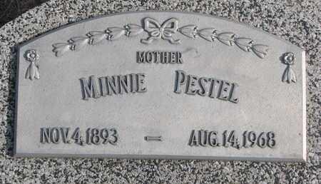 PESTEL, MINNIE - Cuming County, Nebraska   MINNIE PESTEL - Nebraska Gravestone Photos