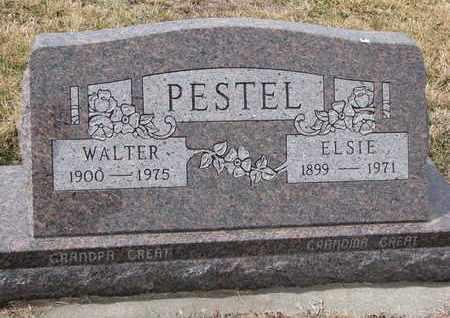 PESTEL, WALTER - Cuming County, Nebraska   WALTER PESTEL - Nebraska Gravestone Photos