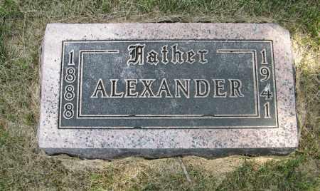 PETERS, ALEXANDER - Cuming County, Nebraska | ALEXANDER PETERS - Nebraska Gravestone Photos
