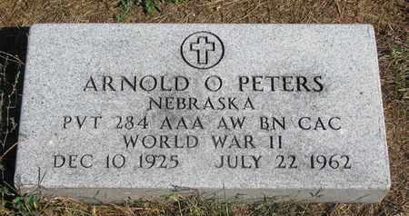 PETERS, ARNOLD O. (WW II) - Cuming County, Nebraska   ARNOLD O. (WW II) PETERS - Nebraska Gravestone Photos