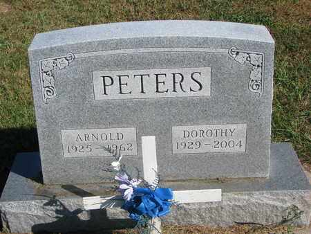 PETERS, DOROTHY - Cuming County, Nebraska | DOROTHY PETERS - Nebraska Gravestone Photos