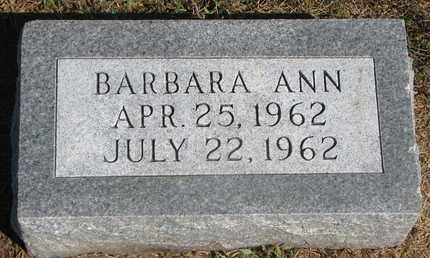 PETERS, BARBARA ANN - Cuming County, Nebraska | BARBARA ANN PETERS - Nebraska Gravestone Photos