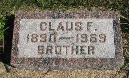 PETERS, CLAUS F. - Cuming County, Nebraska | CLAUS F. PETERS - Nebraska Gravestone Photos