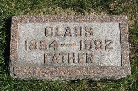 PETERS, CLAUS - Cuming County, Nebraska | CLAUS PETERS - Nebraska Gravestone Photos