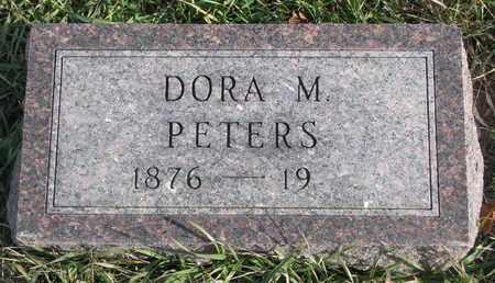 PETERS, DORA M. - Cuming County, Nebraska | DORA M. PETERS - Nebraska Gravestone Photos
