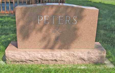 PETERS, (FAMILY MONUMENT) - Cuming County, Nebraska | (FAMILY MONUMENT) PETERS - Nebraska Gravestone Photos