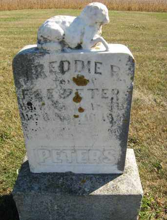 PETERS, FREDDIE R. - Cuming County, Nebraska | FREDDIE R. PETERS - Nebraska Gravestone Photos