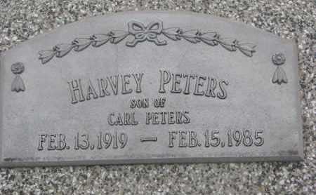 PETERS, HARVEY - Cuming County, Nebraska   HARVEY PETERS - Nebraska Gravestone Photos