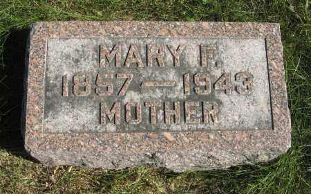PETERS, MARY F. - Cuming County, Nebraska   MARY F. PETERS - Nebraska Gravestone Photos