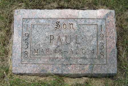 PETERS, PAUL - Cuming County, Nebraska | PAUL PETERS - Nebraska Gravestone Photos