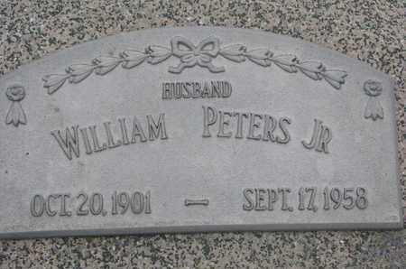 PETERS, WILLIAM JR. - Cuming County, Nebraska | WILLIAM JR. PETERS - Nebraska Gravestone Photos