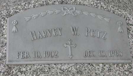 PETZ, HARVEY W. - Cuming County, Nebraska   HARVEY W. PETZ - Nebraska Gravestone Photos