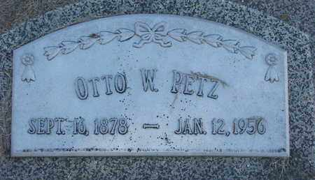 PETZ, OTTO W. - Cuming County, Nebraska   OTTO W. PETZ - Nebraska Gravestone Photos