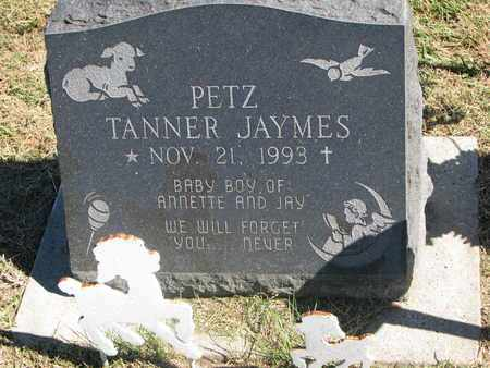 PETZ, TANNER JAYMES - Cuming County, Nebraska   TANNER JAYMES PETZ - Nebraska Gravestone Photos