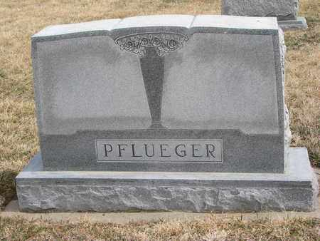 PFLUEGER, (FAMILY MONUMENT) - Cuming County, Nebraska | (FAMILY MONUMENT) PFLUEGER - Nebraska Gravestone Photos