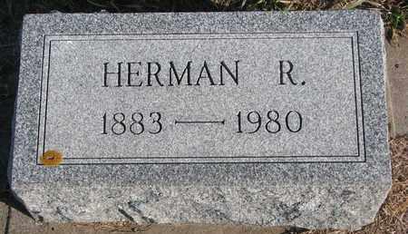 PIERE, HERMAN R. - Cuming County, Nebraska   HERMAN R. PIERE - Nebraska Gravestone Photos