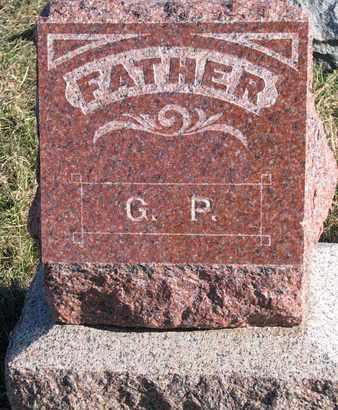 POWELL, GIDEON (FOOTSTONE) - Cuming County, Nebraska | GIDEON (FOOTSTONE) POWELL - Nebraska Gravestone Photos