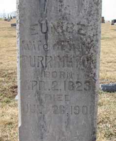 PURRINGTON, EUNICE (CLOSEUP) - Cuming County, Nebraska   EUNICE (CLOSEUP) PURRINGTON - Nebraska Gravestone Photos