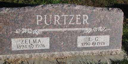 PURTZER, LOUIS G. - Cuming County, Nebraska | LOUIS G. PURTZER - Nebraska Gravestone Photos