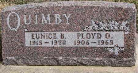 QUIMBY, FLOYD O. - Cuming County, Nebraska   FLOYD O. QUIMBY - Nebraska Gravestone Photos