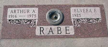 RABE, ARTHUR A. - Cuming County, Nebraska | ARTHUR A. RABE - Nebraska Gravestone Photos