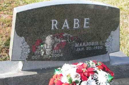 RABE, DALE F. - Cuming County, Nebraska   DALE F. RABE - Nebraska Gravestone Photos
