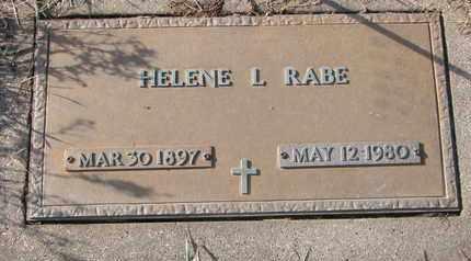RABE, HELENE L. - Cuming County, Nebraska | HELENE L. RABE - Nebraska Gravestone Photos