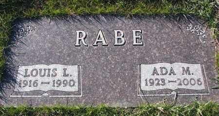 RABE, ADA M. - Cuming County, Nebraska   ADA M. RABE - Nebraska Gravestone Photos