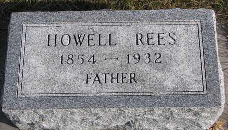 REES, HOWELL - Cuming County, Nebraska | HOWELL REES - Nebraska Gravestone Photos