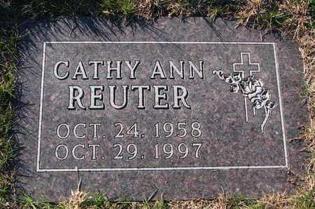 REUTER, CATHY ANN - Cuming County, Nebraska   CATHY ANN REUTER - Nebraska Gravestone Photos