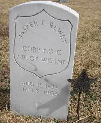REWEY, JASPER L. - Cuming County, Nebraska   JASPER L. REWEY - Nebraska Gravestone Photos