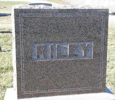 RILEY, (FAMILY MONUMENT) - Cuming County, Nebraska | (FAMILY MONUMENT) RILEY - Nebraska Gravestone Photos