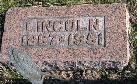 RILEY, LINCOLN - Cuming County, Nebraska | LINCOLN RILEY - Nebraska Gravestone Photos