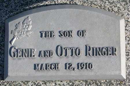 RINGER, SON - Cuming County, Nebraska   SON RINGER - Nebraska Gravestone Photos