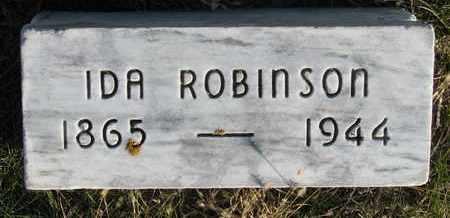 ROBINSON, IDA - Cuming County, Nebraska   IDA ROBINSON - Nebraska Gravestone Photos