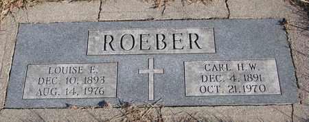 ROEBER, LOUISE F. - Cuming County, Nebraska   LOUISE F. ROEBER - Nebraska Gravestone Photos
