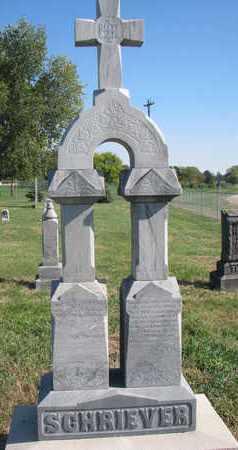 SCHRIEVER, CLAUS H. - Cuming County, Nebraska | CLAUS H. SCHRIEVER - Nebraska Gravestone Photos